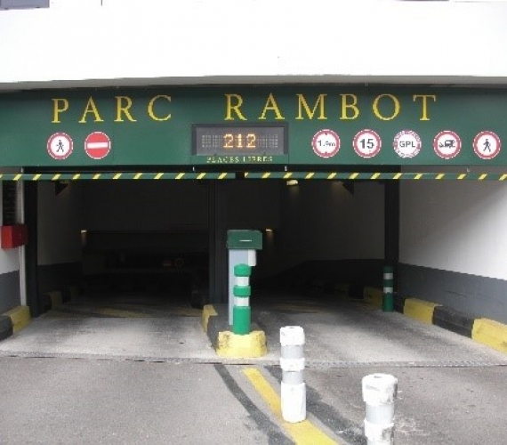 Parking Rambot Aix en Provence